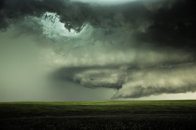 , 'Supercell with Hail. Chugwater, Wyoming,' 2013, Bernarducci Gallery Chelsea