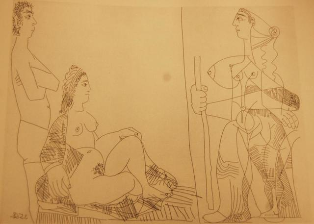 Pablo Picasso, 'Plate 63 and 62', Baterbys Art Gallery