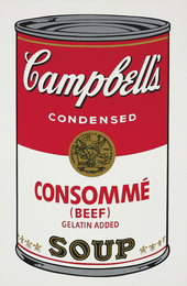 Consommé (Beef), from Campbell's Soup I