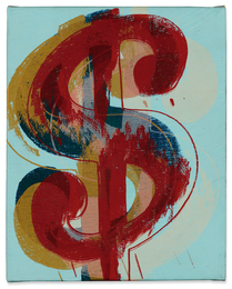 Andy Warhol, 'Dollar Sign,' 1981, Sotheby's: Contemporary Art Day Auction