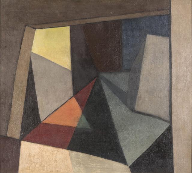 , 'Interiore,' 1915, Roldán Moderno