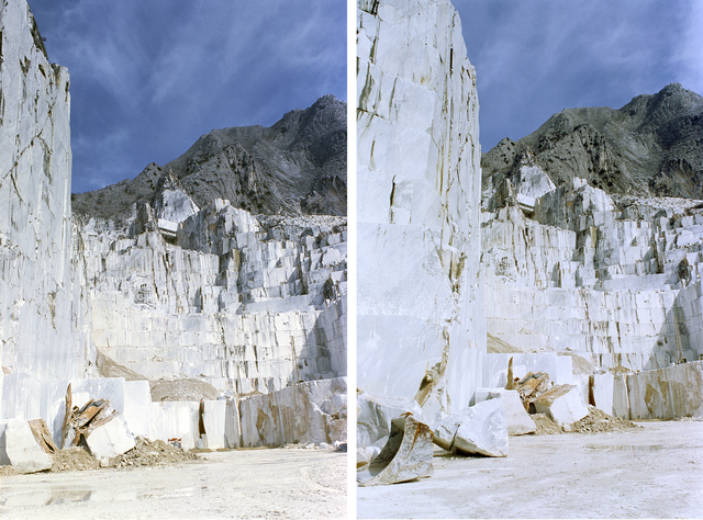 , 'Undecided Frames (Carrara, 2010),' 2016, Nadja Vilenne