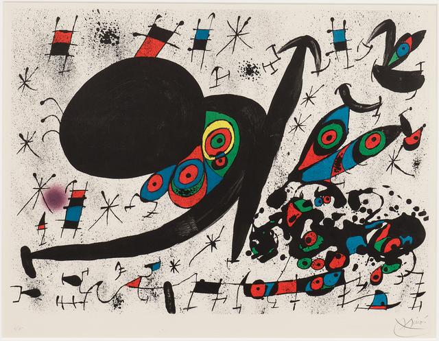 Joan Miró, 'Plate Twelve, from the suite Homenatge a Joan Prats', 1971, Skinner