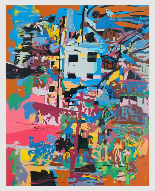 , 'Residencies at Chestnut Hill (ecstatic view of the suburbs),' 2018, David Richard Gallery