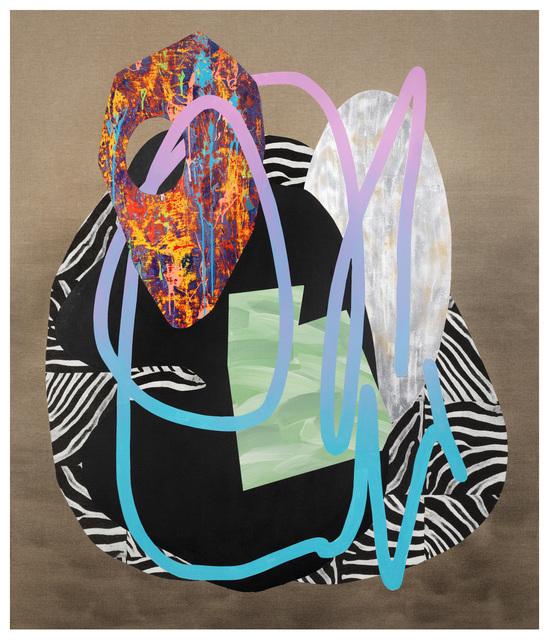 , 'Composition #19,' 2015, Nellie Castan Projects
