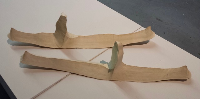 , 'Meeting on the Lake (Kayaks) (diptych),' ca. 2004, Robert Kananaj Gallery
