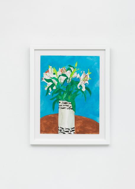 , 'Lilies in Jobi Vase, Provincetown,' 2018, Richard Taittinger Gallery