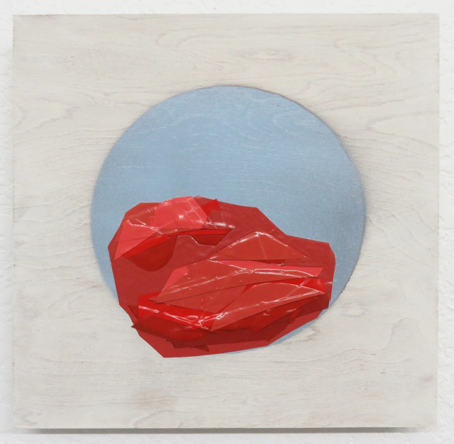 , 'Red Red Red against a Pale Gray Blue, 0108.,' 2017, Galleri Urbane