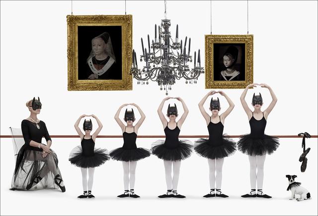 , 'Batman Family Girls Dance,' 2015, Opera Gallery