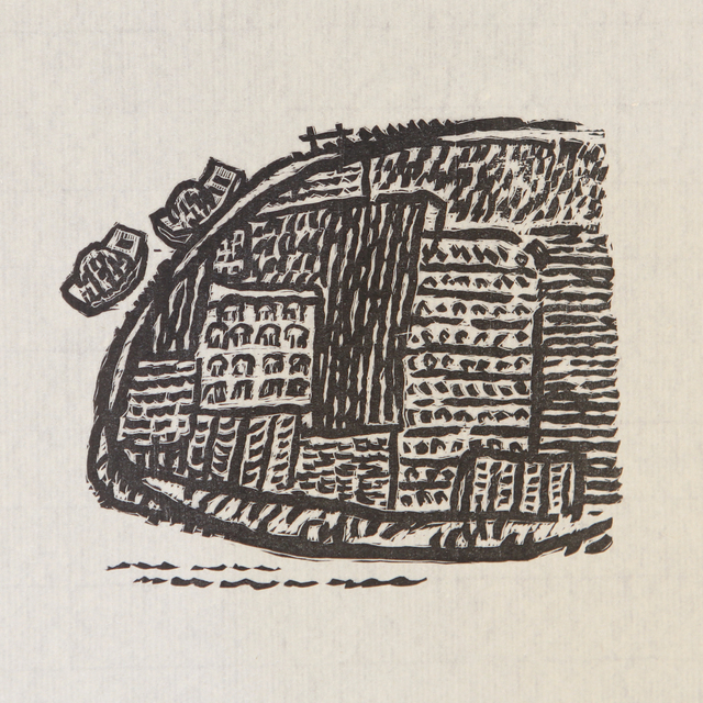 , 'Two Boats 两条小船,' 1985, Ink Studio