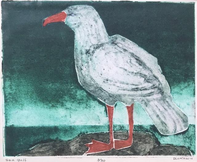 , 'Sea Gull,' Late 20th c., Bakker Gallery