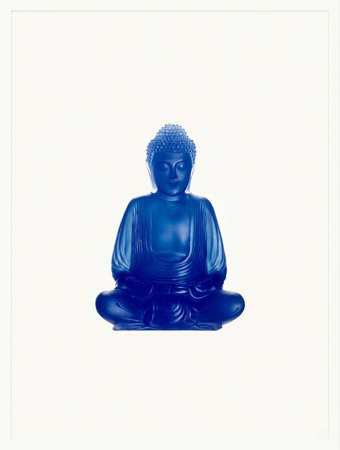 Sarah Charlesworth, 'Blue Buddha', 2005, Paula Cooper Gallery