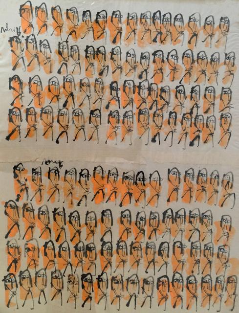 , 'My Little Happiness 34_Orange,' 2016, Art Vietnam Gallery