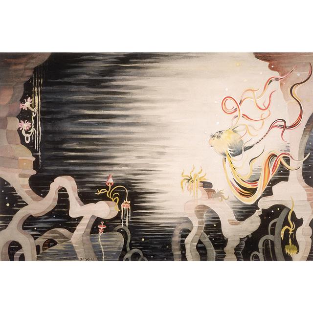 Dr. Seuss, 'Flower Fish', 2006, Huckleberry Fine Art