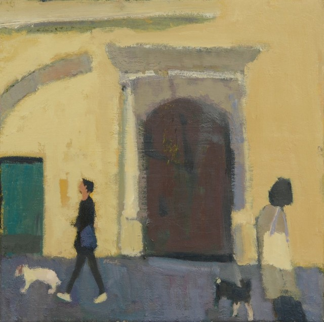 , 'Outside Palazzo Busdraghi,' 2018, The Lemond Gallery