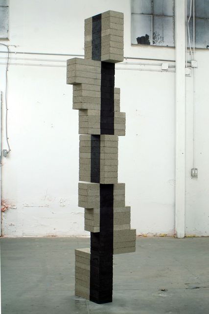 , 'Stacked Column 7,' 2016, L.A. Louver