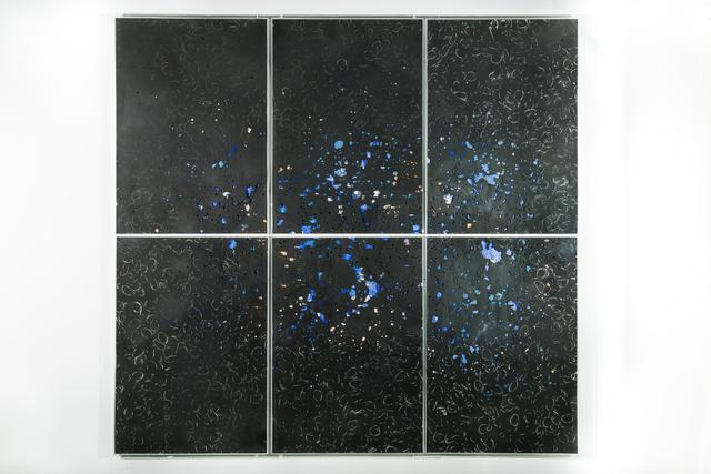 , 'La gran explosió / Gènesi amb dotze descarts,' 2014, maserre +R