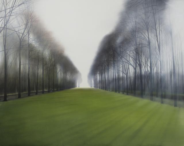 , 'Evening walk in the park,' 2018, Kultproekt