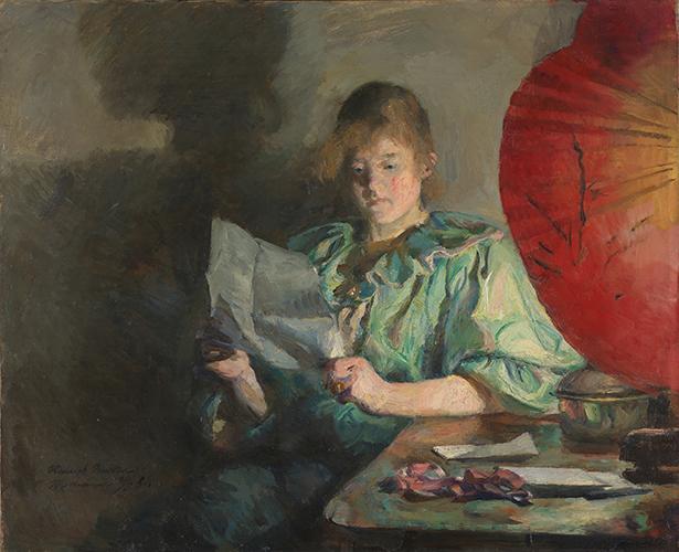 , 'Evening, Interior,' 1890, American Federation of Arts