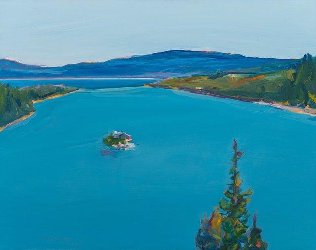 Gregory Kondos, 'Emerald Bay, Tahoe', 2001, Heritage Auctions
