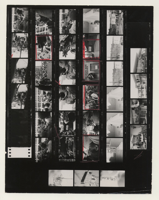 , 'Contact Sheet, Memphis, Tennessee,' 1968, Lee Gallery