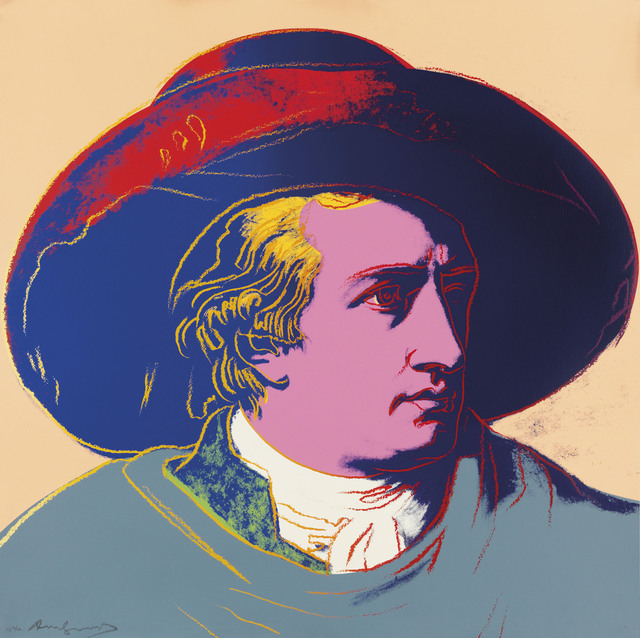 Andy Warhol, 'Goethe', 1982, Christie's