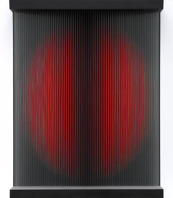 , 'Rote Wandarbeit Kreis,' 2017, Joerg Heitsch Gallery