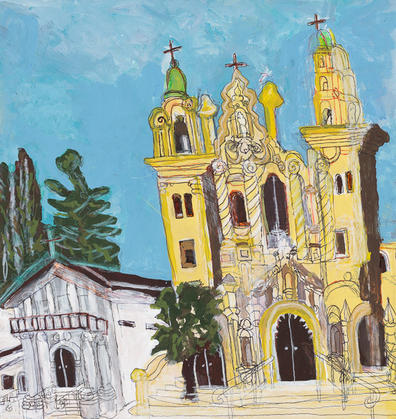 , 'Mission Dolores,' 2018, Creativity Explored