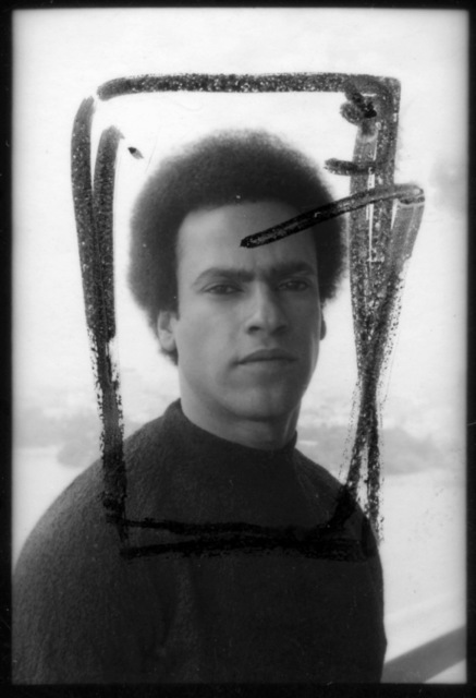 """, '""""Huey Newton, Black Panther"""",' 1972, Galerie Pixi - Marie Victoire Poliakoff"""