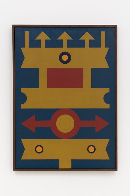 , 'Emblema - Logotipo Poético,' 1974, Mendes Wood DM