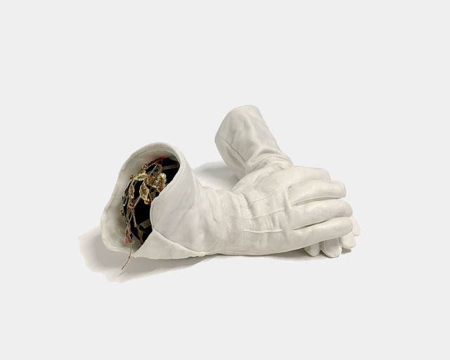 , 'The gloves of the little worker...,' 2019, De Buck Gallery