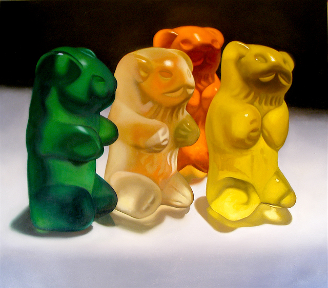 , 'Gummy Bears,' 2008, Woodward Gallery