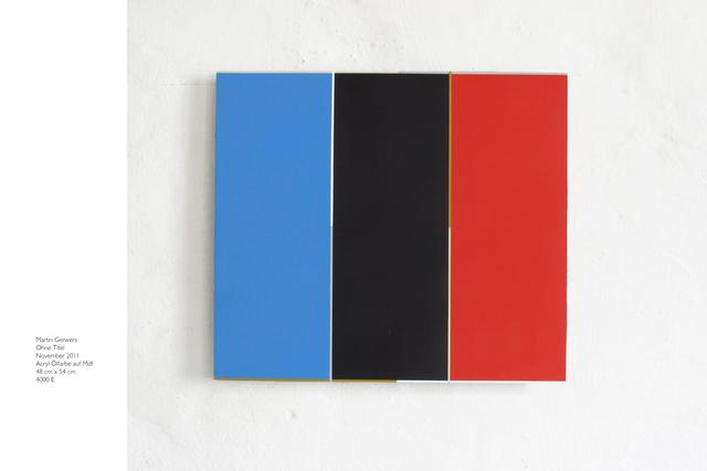 , 'Untitled,' 2011, Philipp von Rosen Galerie