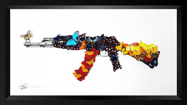 , 'AK-47,' 2016, Eden Fine Art