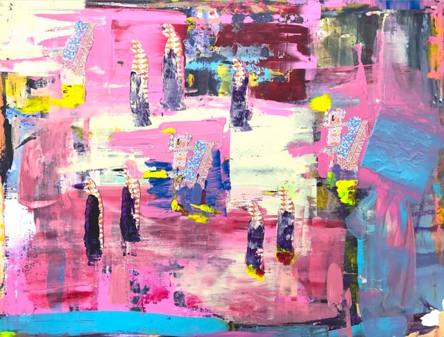, 'Oneness Wholeness #4,' 2017, Setareh Gallery