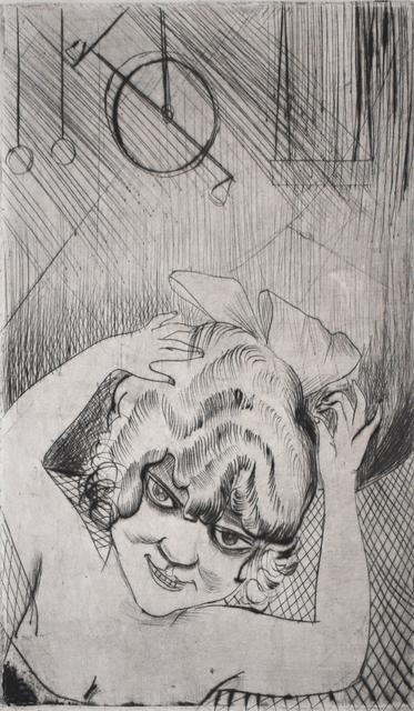 Otto Dix, 'Lili, Queen of the Sky, from: Circus | Lili, die Königin der Luft, aus: Zirkus', 1922, Gilden's Art Gallery