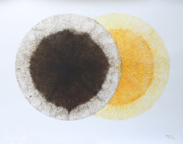 , 'Solar Eclipse,' 2017-2018, Exhibit 320