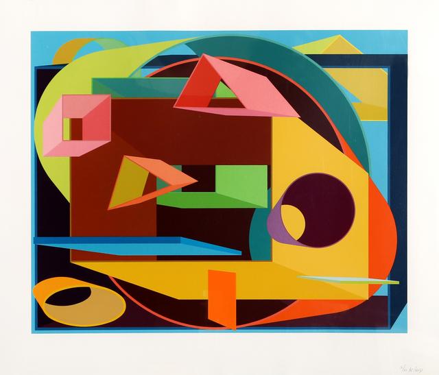 Al Held, 'Scholes II', 1991, RoGallery