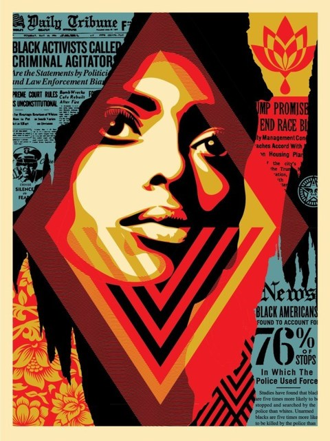 Shepard Fairey, 'Bias by Numbers', 2017, Dope! Gallery