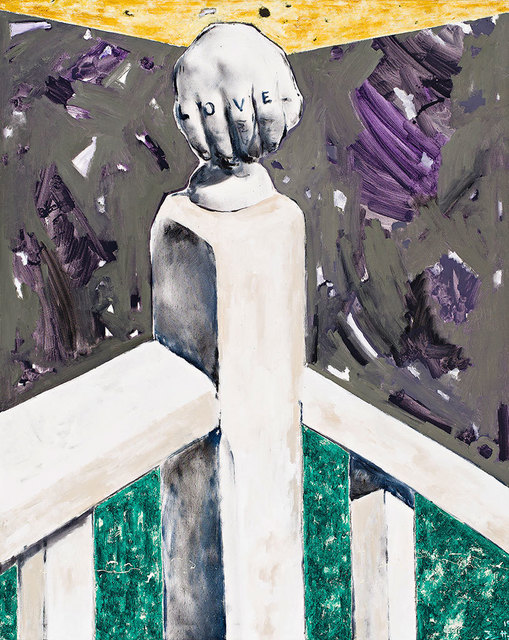, 'Love (La main de R. M.) / Love (Die hand von R. M.),' 2015, Galerie Eva Meyer