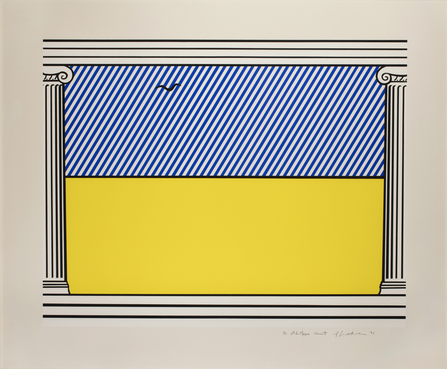 Roy Lichtenstein, 'Liberté', 1991, Print, Serigraphy in colors on Arches, Millon