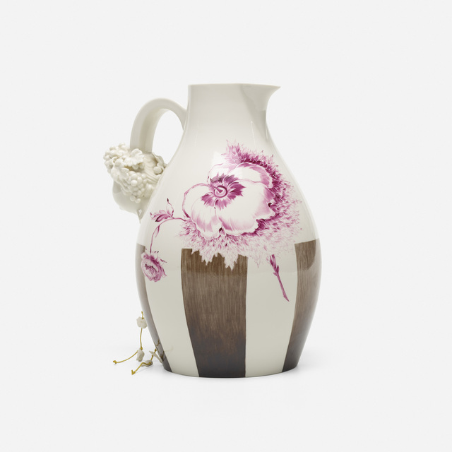 Nymphenburg Porcelain Manufactory, 'Autumn wine jug', 2007, Rago/Wright