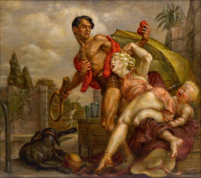 Paul Cadmus, 'Venus and Adonis', 1936, Bernard Goldberg Fine Art