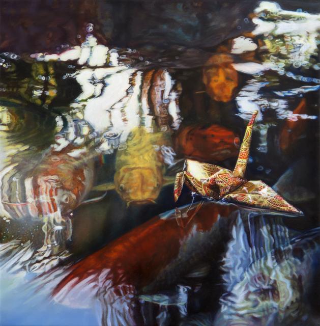 , 'Crane 46 - Koi Lurks,' 2019, Louis K. Meisel Gallery