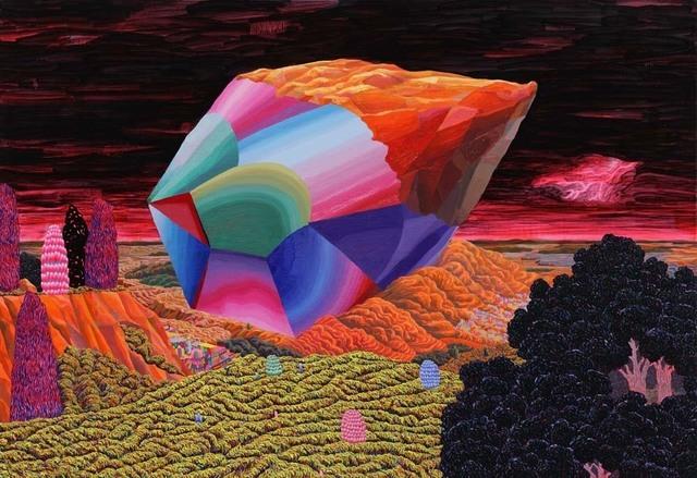 , 'Fallen Stone 떨어진 돌,' 2014, Johyun Gallery