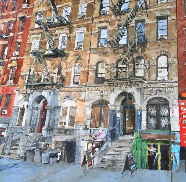 Ronald Dupont, 'Facade  St-Mark's Place NY', 2018, Absolute Art Gallery