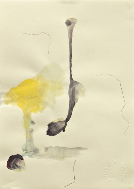 , 'Os desenhos da praia #10,' 2011, Galeria Miguel Nabinho