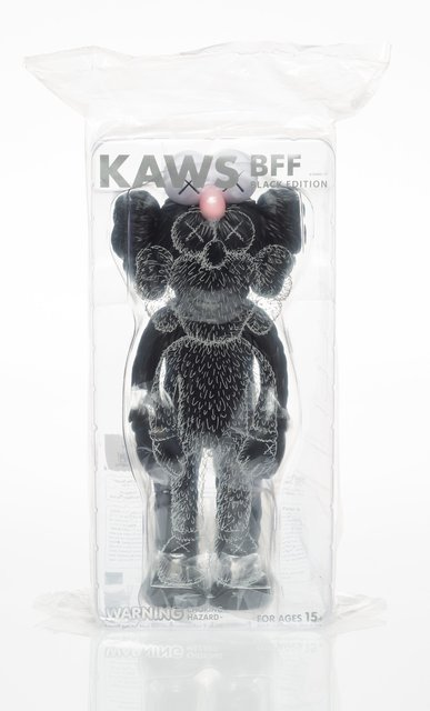 KAWS, 'BFF Companion (Black)', 2018, Heritage Auctions