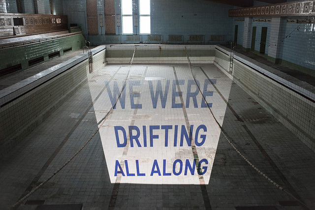, 'We were drifting all along,' 2014, Blindspot Gallery