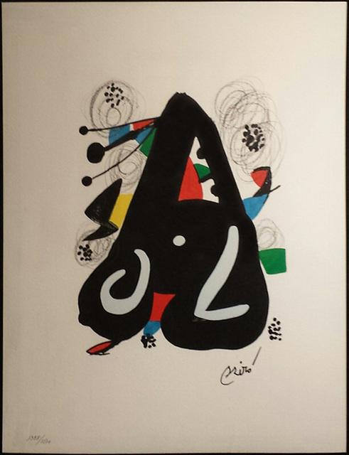 Joan Miró, 'Untitled (La Mélodie Acide, M.1220)', 1980, Martin Lawrence Galleries